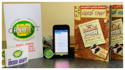 cashunt nyc bridal dash smartphone package